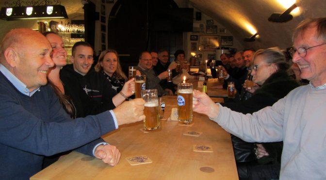 TC Buchen besucht die Brauerei Faust