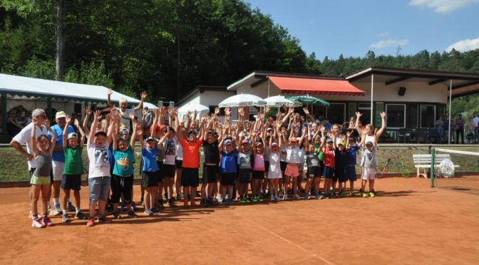 Ereignisreiche Tennistage beim TC Buchen